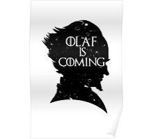 Olaf is Coming Poster