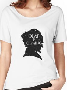 Olaf is Coming Women's Relaxed Fit T-Shirt