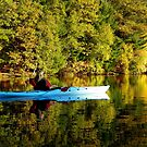 Cynthia Kayaking in Miror Lake by mussermd