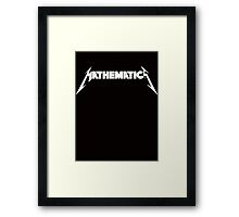 Mathematics Rock! Framed Print