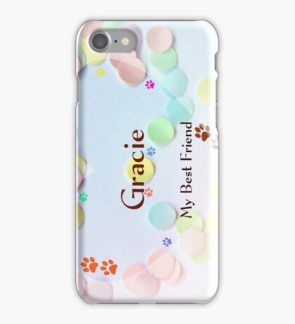 Gracie - sideview iPhone Case/Skin