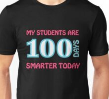 My Students Are 100 Days Smarter Today Shirt Unisex T-Shirt