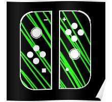 nintendo switch green Poster