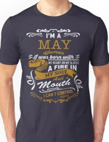 I'm a May women Unisex T-Shirt