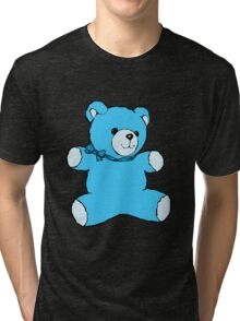 teddy bear skyblue Tri-blend T-Shirt