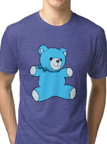 teddy bear skyblue Tri-blend T-Shirt
