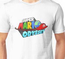 Super Mario Odyssey Logo for Nintendo Switch Unisex T-Shirt