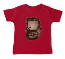 Lion Book How To Be Vegetarian Baby Tee