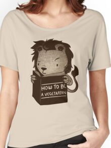 Lion Book How To Be Vegetarian Women's Relaxed Fit T-Shirt