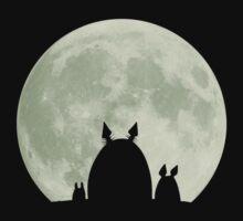 Totoro - Moon by xiaomian