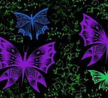 Forest Butterflies by FedericoArts