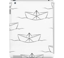 Paper ship iPad Case/Skin