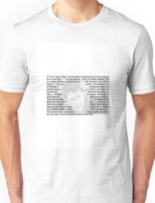 Quotes from Monarch of the Glen - Duncan McKay Unisex T-Shirt