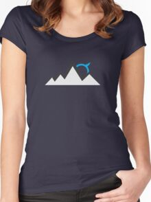 Echo Mountain Women's Fitted Scoop T-Shirt