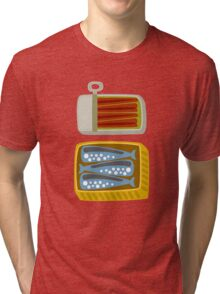 Canned Fish Tri-blend T-Shirt