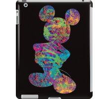 Mickey (Splatter) iPad Case/Skin