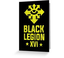 Black Legion XVI - Warhammer Greeting Card