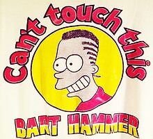 CAN'T TOUCH THIS--MC BARTHAMMER by BootlegBart