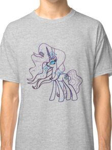 Nightmare Rarity and Cutie Mark Classic T-Shirt