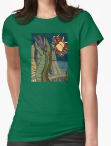 Encounter at Rigel 69 Womens Fitted T-Shirt