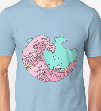 Japanese Anime Pastel Wave Unisex T-Shirt