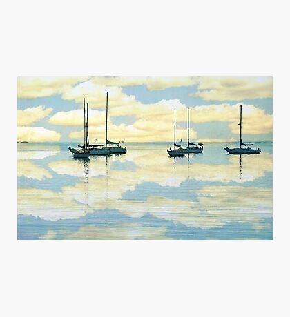 Sailing through clouds Photographic Print