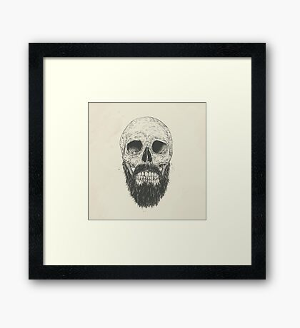 Beard is the new trend Framed Print