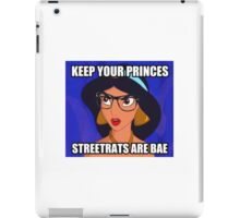 Streetrats and Hoodrats are BAE \\ Ironic Royalty Collection  iPad Case/Skin