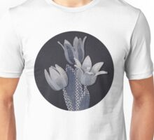 Tulips from old blue jeans Unisex T-Shirt