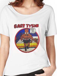 Bart Tyson//Black Bart as Mike Tyson Women's Relaxed Fit T-Shirt