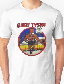 Bart Tyson//Black Bart as Mike Tyson Unisex T-Shirt