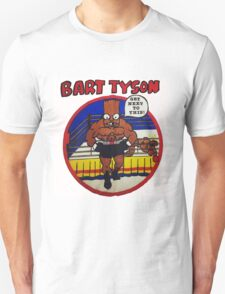 Bart Tyson//Black Bart as Mike Tyson T-Shirt