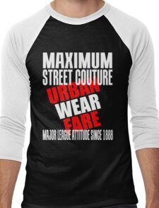 URBAN WEAR FARE Men's Baseball ¾ T-Shirt