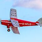 De Havilland DH.87B Hornet Moth G-AELO by Colin Smedley