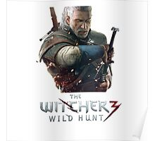 The Witcher 3 Geralt of Rivia Poster