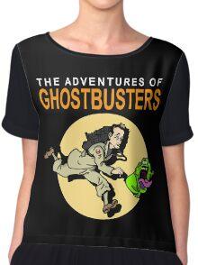 TinTin Ghostbusters Chiffon Top