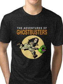 TinTin Ghostbusters Tri-blend T-Shirt
