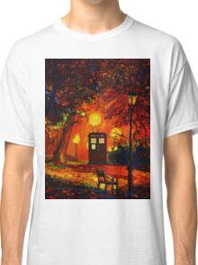 tardis starry night beauty full  Classic T-Shirt