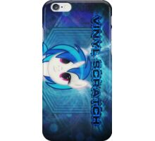 Vinyl Scratch Poster iPhone Case/Skin