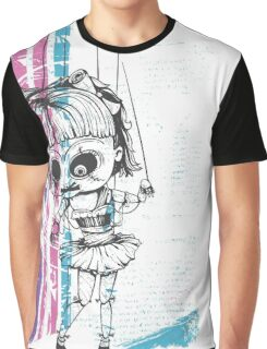Scary Doll Graphic T-Shirt