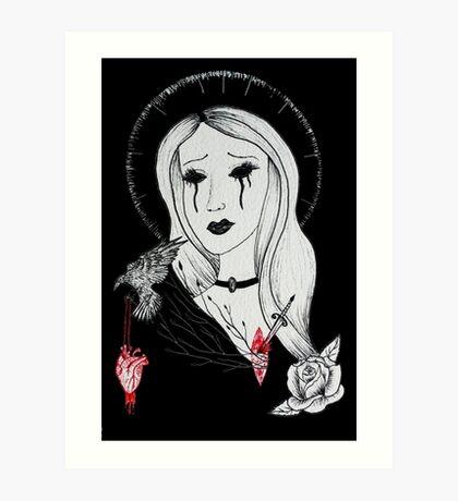 A Dead Heart in a Dead World Art Print