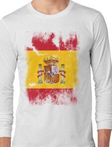 Flag of Spain Long Sleeve T-Shirt
