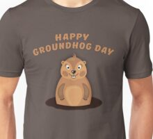Cool Gift for Groundhog Day  Unisex T-Shirt