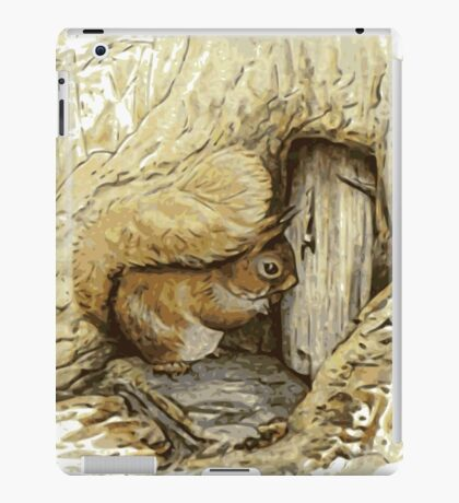 Beatrix potter Squirrel iPad Case/Skin