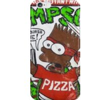 TEENAGE MUTANT NINJA SIMPSON iPhone Case/Skin