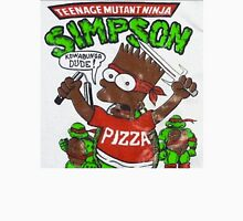 TEENAGE MUTANT NINJA SIMPSON Unisex T-Shirt