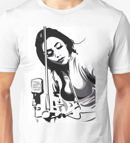 PJ Harvey (fan art vector illustration) Unisex T-Shirt