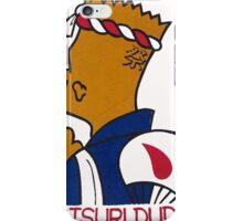 JAPANESE BART SIMPSON, MATSURI DUDE iPhone Case/Skin