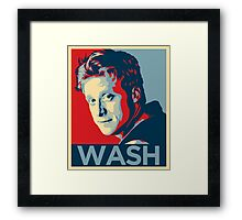 Wash : Inspired by Firefly and Serenity Framed Print