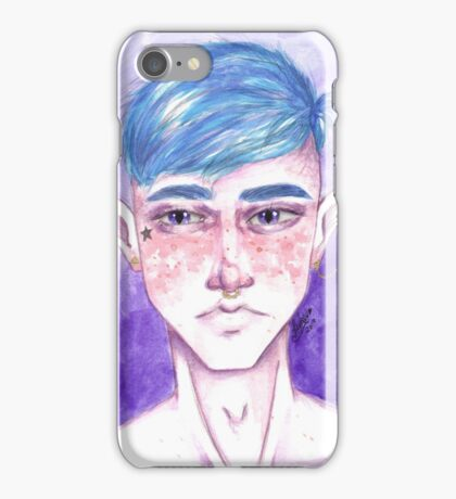 Elven Watercolor iPhone Case/Skin